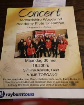 Tour flyers