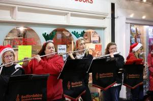 2016 christmas busking hitchin